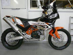 Umbau einer KTM 690 Enduro R