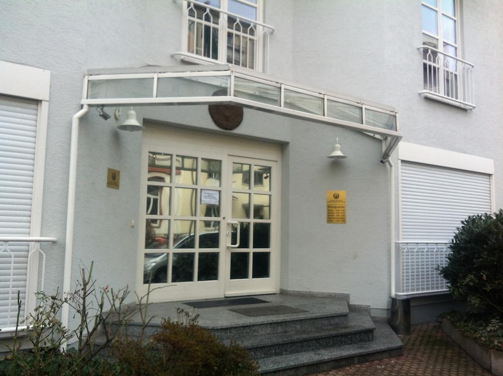botschaft ukraine frankfurt