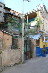 Aussenansicht WhyNot - Hostel in Tiflis