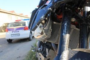 Unfallschaden am Motorrad
