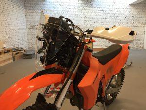 Fertiger Rallyevorbau KTM 530 EXC